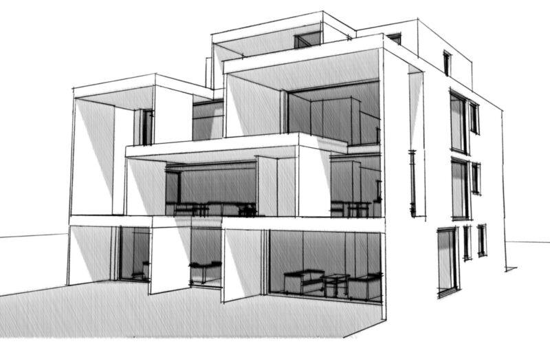 03 Variante 1 Neubau